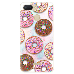 Silikonové odolné pouzdro iSaprio Donuts 11 na mobil Xiaomi Redmi 6