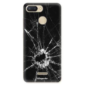 Silikonové odolné pouzdro iSaprio Broken Glass 10 na mobil Xiaomi Redmi 6