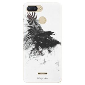 Silikonové odolné pouzdro iSaprio Dark Bird 01 na mobil Xiaomi Redmi 6
