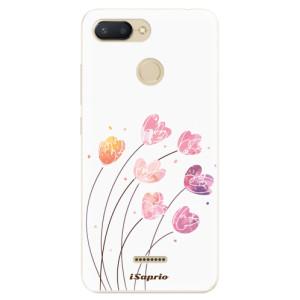 Silikonové odolné pouzdro iSaprio Flowers 14 na mobil Xiaomi Redmi 6