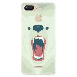 Silikonové odolné pouzdro iSaprio Angry Bear na mobil Xiaomi Redmi 6