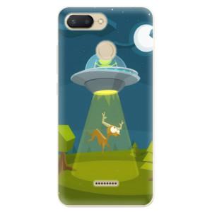 Silikonové odolné pouzdro iSaprio Alien 01 na mobil Xiaomi Redmi 6