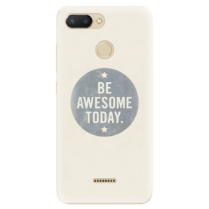 Silikonové odolné pouzdro iSaprio Awesome 02 na mobil Xiaomi Redmi 6