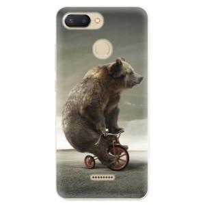 Silikonové odolné pouzdro iSaprio Bear 01 na mobil Xiaomi Redmi 6