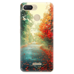Silikonové odolné pouzdro iSaprio Autumn 03 na mobil Xiaomi Redmi 6