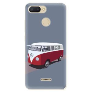 Silikonové odolné pouzdro iSaprio VW Bus na mobil Xiaomi Redmi 6