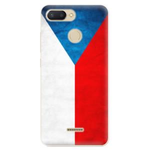 Silikonové odolné pouzdro iSaprio Czech Flag na mobil Xiaomi Redmi 6