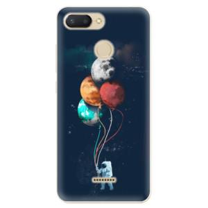 Silikonové odolné pouzdro iSaprio Balloons 02 na mobil Xiaomi Redmi 6