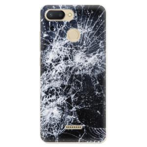 Silikonové odolné pouzdro iSaprio Cracked na mobil Xiaomi Redmi 6