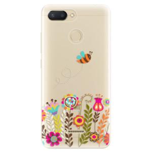 Silikonové odolné pouzdro iSaprio Bee 01 na mobil Xiaomi Redmi 6