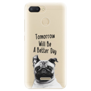 Silikonové odolné pouzdro iSaprio Better Day 01 na mobil Xiaomi Redmi 6