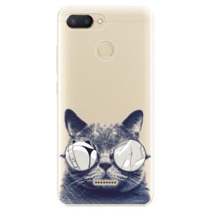 Silikonové odolné pouzdro iSaprio Crazy Cat 01 na mobil Xiaomi Redmi 6