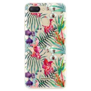 Silikonové odolné pouzdro iSaprio Flower Pattern 03 na mobil Xiaomi Redmi 6