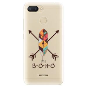 Silikonové odolné pouzdro iSaprio BOHO na mobil Xiaomi Redmi 6