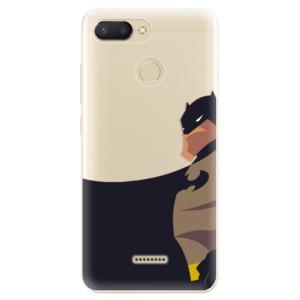 Silikonové odolné pouzdro iSaprio BaT Comics na mobil Xiaomi Redmi 6