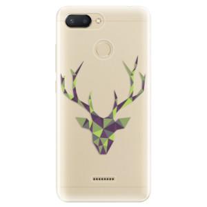 Silikonové odolné pouzdro iSaprio Deer Green na mobil Xiaomi Redmi 6