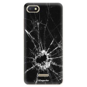 Silikonové odolné pouzdro iSaprio Broken Glass 10 na mobil Xiaomi Redmi 6A