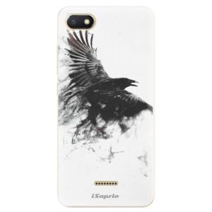 Silikonové odolné pouzdro iSaprio Dark Bird 01 na mobil Xiaomi Redmi 6A