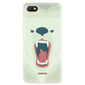 Silikonové odolné pouzdro iSaprio Angry Bear na mobil Xiaomi Redmi 6A