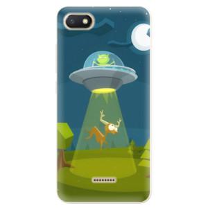 Silikonové odolné pouzdro iSaprio Alien 01 na mobil Xiaomi Redmi 6A