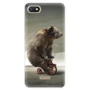 Silikonové odolné pouzdro iSaprio Bear 01 na mobil Xiaomi Redmi 6A