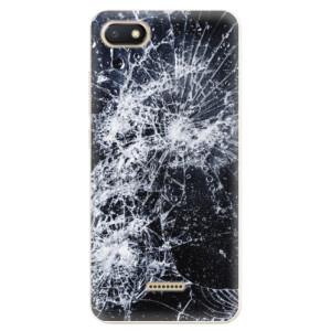 Silikonové odolné pouzdro iSaprio Cracked na mobil Xiaomi Redmi 6A