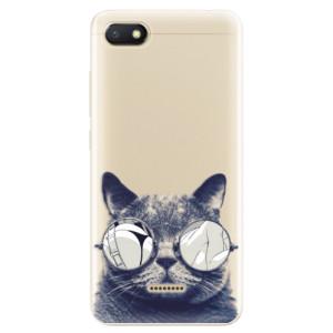 Silikonové odolné pouzdro iSaprio Crazy Cat 01 na mobil Xiaomi Redmi 6A