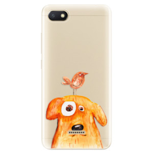 Silikonové odolné pouzdro iSaprio Dog And Bird na mobil Xiaomi Redmi 6A