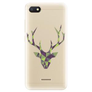 Silikonové odolné pouzdro iSaprio Deer Green na mobil Xiaomi Redmi 6A