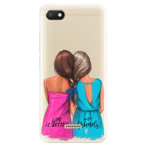 Silikonové odolné pouzdro iSaprio Best Friends na mobil Xiaomi Redmi 6A