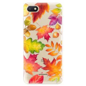 Silikonové odolné pouzdro iSaprio Autumn Leaves 01 na mobil Xiaomi Redmi 6A
