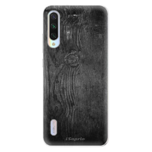 Silikonové odolné pouzdro iSaprio Black Wood 13 na mobil Xiaomi Mi A3