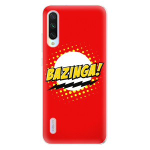 Silikonové odolné pouzdro iSaprio Bazinga 01 na mobil Xiaomi Mi A3