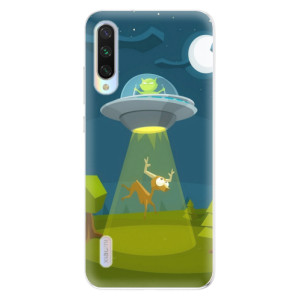 Silikonové odolné pouzdro iSaprio Alien 01 na mobil Xiaomi Mi A3