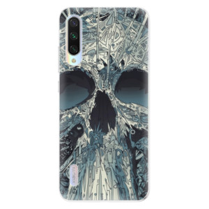 Silikonové odolné pouzdro iSaprio Abstract Skull na mobil Xiaomi Mi A3