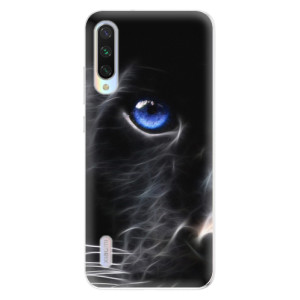 Silikonové odolné pouzdro iSaprio Black Puma na mobil Xiaomi Mi A3