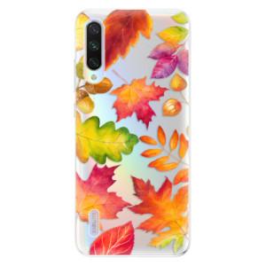 Silikonové odolné pouzdro iSaprio Autumn Leaves 01 na mobil Xiaomi Mi A3