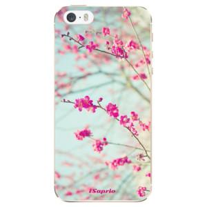 Silikonové odolné pouzdro iSaprio Blossom 01 na mobil Apple iPhone 5 / 5S / SE