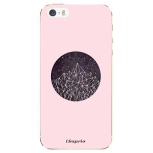 Silikonové odolné pouzdro iSaprio Digital Mountains 10 na mobil Apple iPhone 5 / 5S / SE