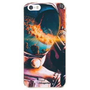 Silikonové odolné pouzdro iSaprio Astronaut 01 na mobil Apple iPhone 5 / 5S / SE