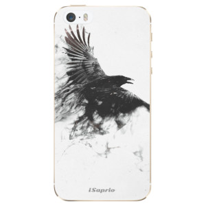 Silikonové odolné pouzdro iSaprio Dark Bird 01 na mobil Apple iPhone 5 / 5S / SE