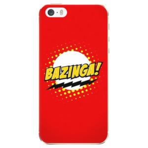 Silikonové odolné pouzdro iSaprio Bazinga 01 na mobil Apple iPhone 5 / 5S / SE