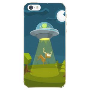 Silikonové odolné pouzdro iSaprio Alien 01 na mobil Apple iPhone 5 / 5S / SE