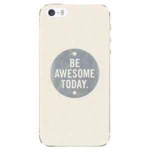 Silikonové odolné pouzdro iSaprio Awesome 02 na mobil Apple iPhone 5 / 5S / SE