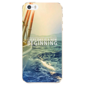 Silikonové odolné pouzdro iSaprio Beginning na mobil Apple iPhone 5 / 5S / SE