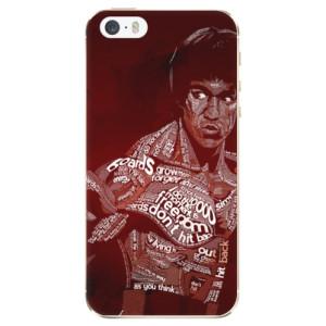 Silikonové odolné pouzdro iSaprio Bruce Lee na mobil Apple iPhone 5 / 5S / SE