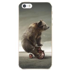 Silikonové odolné pouzdro iSaprio Bear 01 na mobil Apple iPhone 5 / 5S / SE