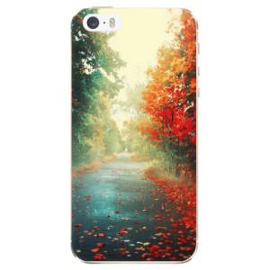 Silikonové odolné pouzdro iSaprio Autumn 03 na mobil Apple iPhone 5 / 5S / SE