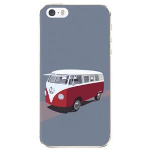 Silikonové odolné pouzdro iSaprio VW Bus na mobil Apple iPhone 5 / 5S / SE