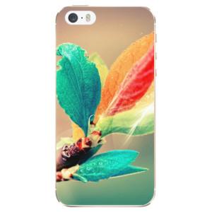 Silikonové odolné pouzdro iSaprio Autumn 02 na mobil Apple iPhone 5 / 5S / SE